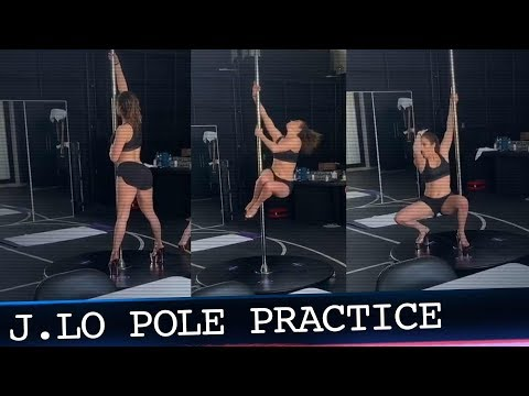 Papa Keith - J.Lo is Learning How To Pole Dance