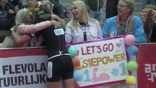 Challenge Triathlon Almere-Amsterdam Els Visser 2018
