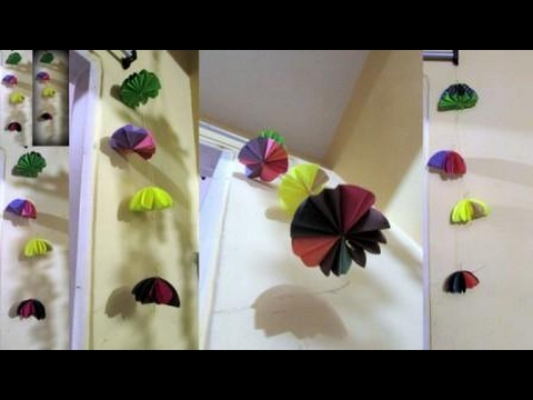 PAPER UMBRELLA DIY/WALL HANGING