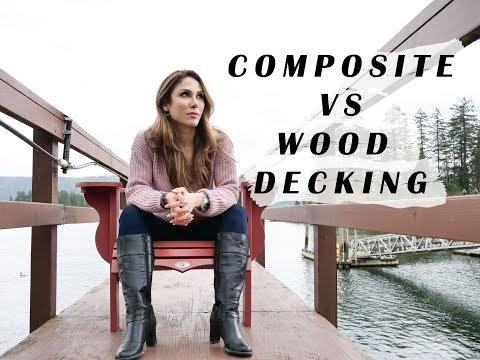 COMPOSITE VS WOOD DECKING | VLOG 02