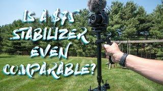 Can a $75 Budget Stabilizer Even Compare to a $200 Glidecam/Steadicam?    Dazzne S60+ Review