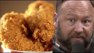 Alex Jones KFC Commercial Parody | JRE Clips