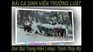 BÀI CA SINH VIÊN TRƯỜNG LUẬT - Ca sĩ Hồng Biển