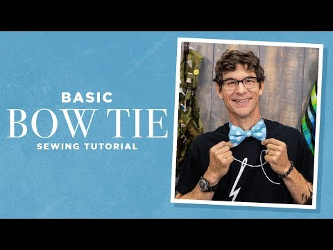 Make A Basic Bow Tie With Rob