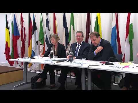 Promoting Global Transparency: A Transatlantic Challenge - Panel 1
