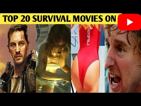 Top 20 Hollywood  Survival Movies On YouTube 2020