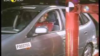 Краш тест Nissan Almera Tino 2001 (E-NCAP)
