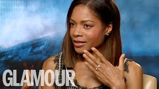 Naomie Harris On Her Amazing Morning Routine And Her Biggest Inspiration | GLAMOUR UK