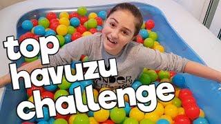 Havuzdan Ne Çıkarsa SÜRPRİZ Challenge - Top havuzundan neler çıktı , gerçekten çok güldük 😂