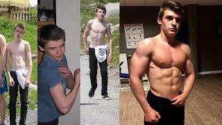 Tim Leysen 2 Year Natural Body Transformation (15-17)