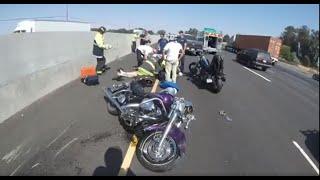 Motorcycle Crash 580 Eastbound