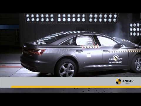 Audi A6, scores a 5 star ANCAP safety rating