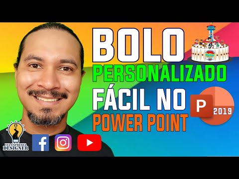BOLO PERSONALIZADO FÁCIL NO POWER POINT 2019 from YouTube · Duration:  23 minutes 43 seconds