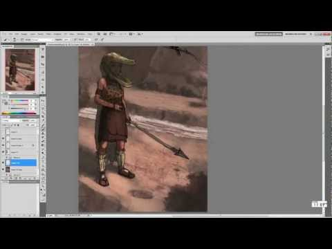 Character Design/Illustration – Tribal Hunter (Part 1) Tutorial