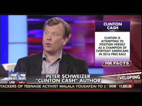Peter Schweizer talks about Hillary Clinton's failure to disclose