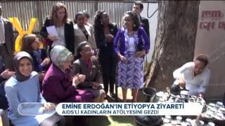 First Lady Emine Erdoğan'ın Afrika Ziyareti