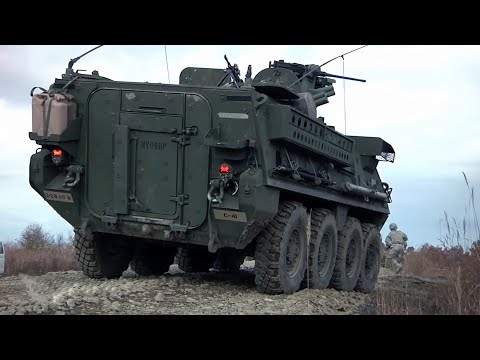 General Dynamics Stryker 8x8 Wheeled Multirole Armored Fighting Vehicle