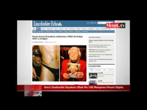 Doris Deahardie Rayakan Ultah Ke 100 Menyewa Penari Stiptis