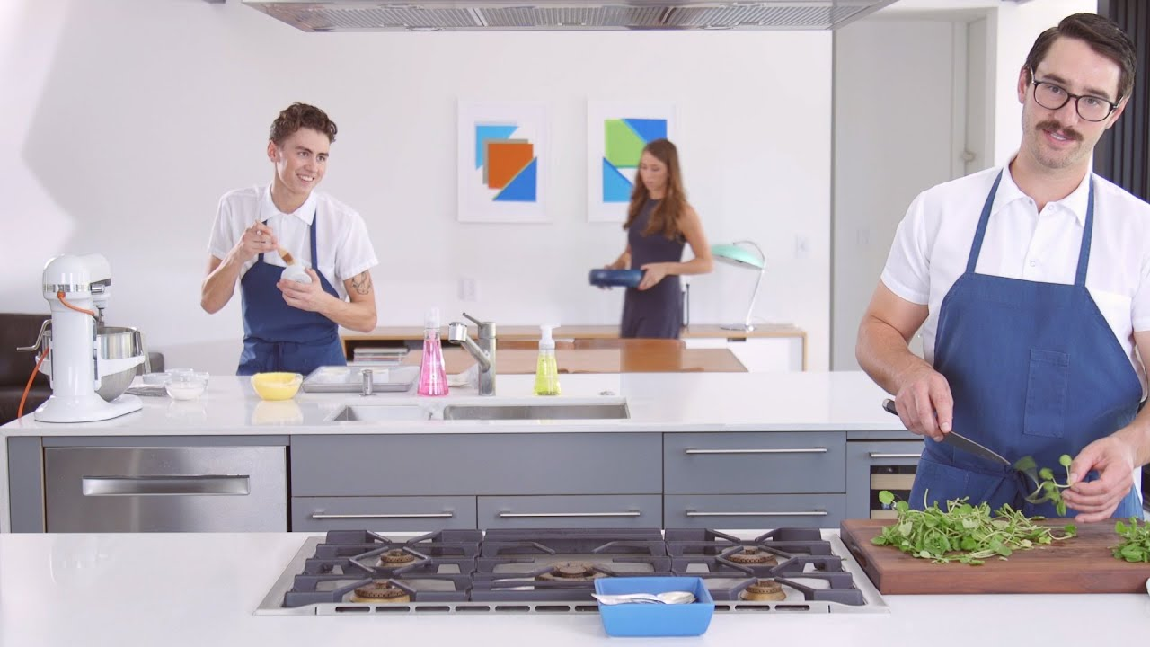 Cooking in the Ideal Kitchen - YouTube
