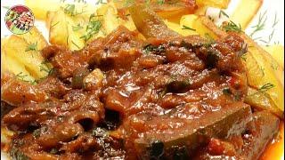 Азу из говядины по - татарски. Просто, вкусно, недорого.