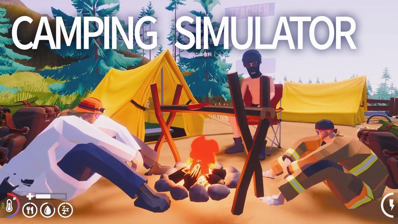 #1 本格キャンプで大喧嘩しました【Camping Simulator: The Squad】