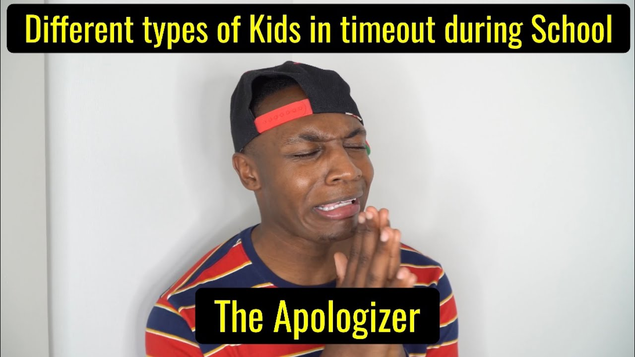 Different types of Kids in Time out