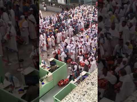 """*Beautiful* Indonesian Muslims reciting Salawat in Madinah Airport """"Hajj 2017"""""""