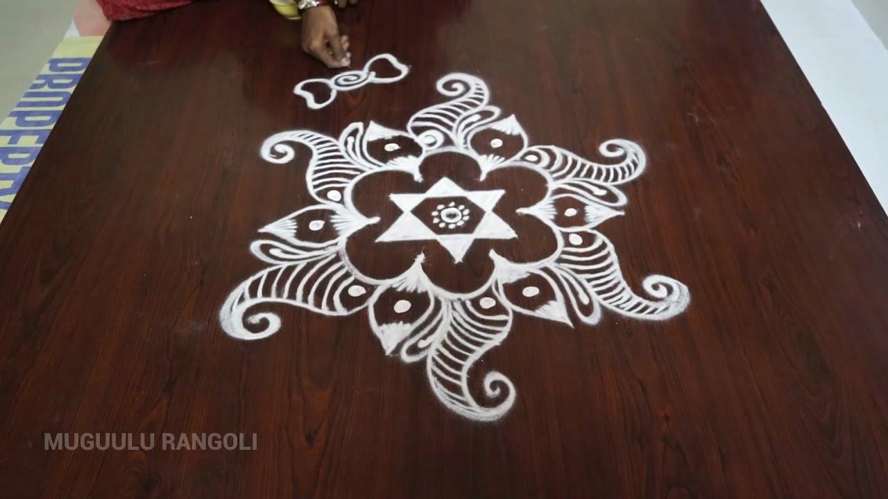 Best And Simple Rangoli Designs