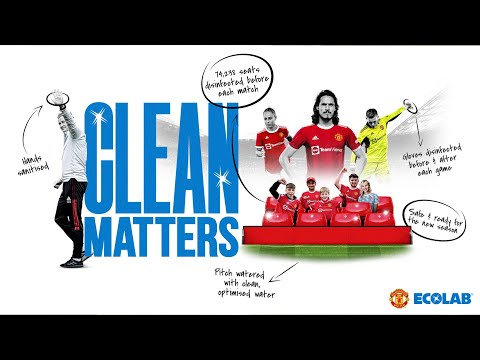 Clean Matters: Ecolab Presentation |  United manchester