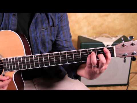 How to Play - When I was Your Man by Bruno Mars - Acoustic songs guitar lesson