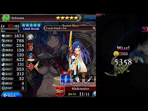 Global's Level 85 Setsuna Unit Showcase/Review (The Alchemist Code)