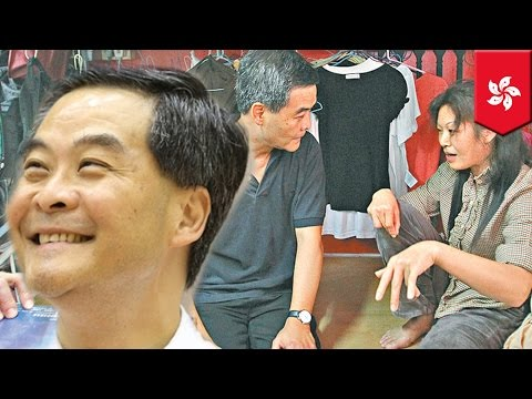 CY Leung, Hong Kong chief executive, says poor people can't govern themselves
