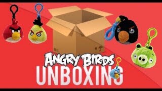 Backpack Clips! - Angry Birds Plush Unboxing