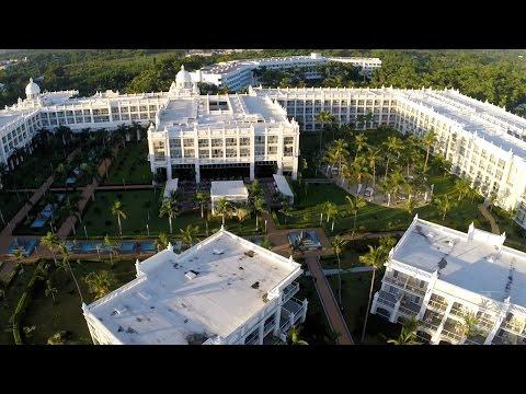 RIU Aerial review of Palace Bavaro | Bamboo | Palace Macao | Palace Punta Cana | Naiboa