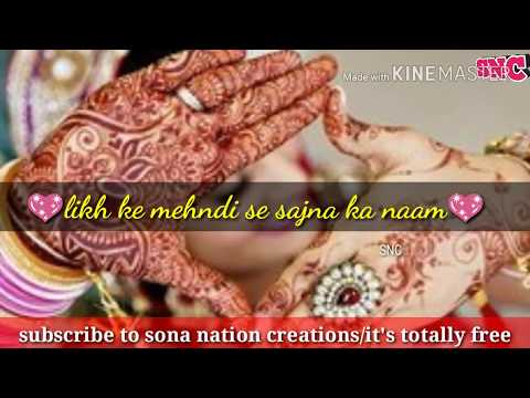 Mehndi WhatsApp status/new WhatsApp...