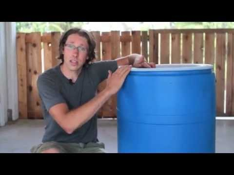 Building a Rain Barrel - Easy as 1, 2, 3