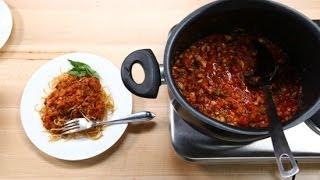 Vegan Bolognese Sauce Recipe From Olivia Wilde | Lighten Up