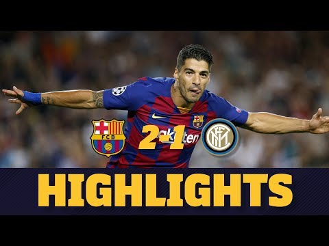 VIDEO Goles y Resumen Barcelona-Inter (2-1)