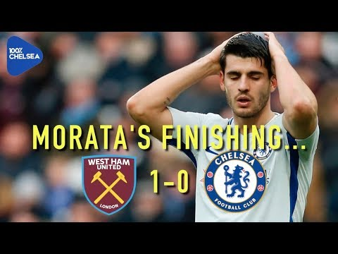 MORATA'S FINISHING... || WEST HAM 1-0 CHELSEA || LIVE REVIEW