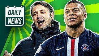 FC Bayern: Niko Kovac ist nicht mehr Trainer! Wartet Real auf Mbappé? Salif Sané verletzt sich!