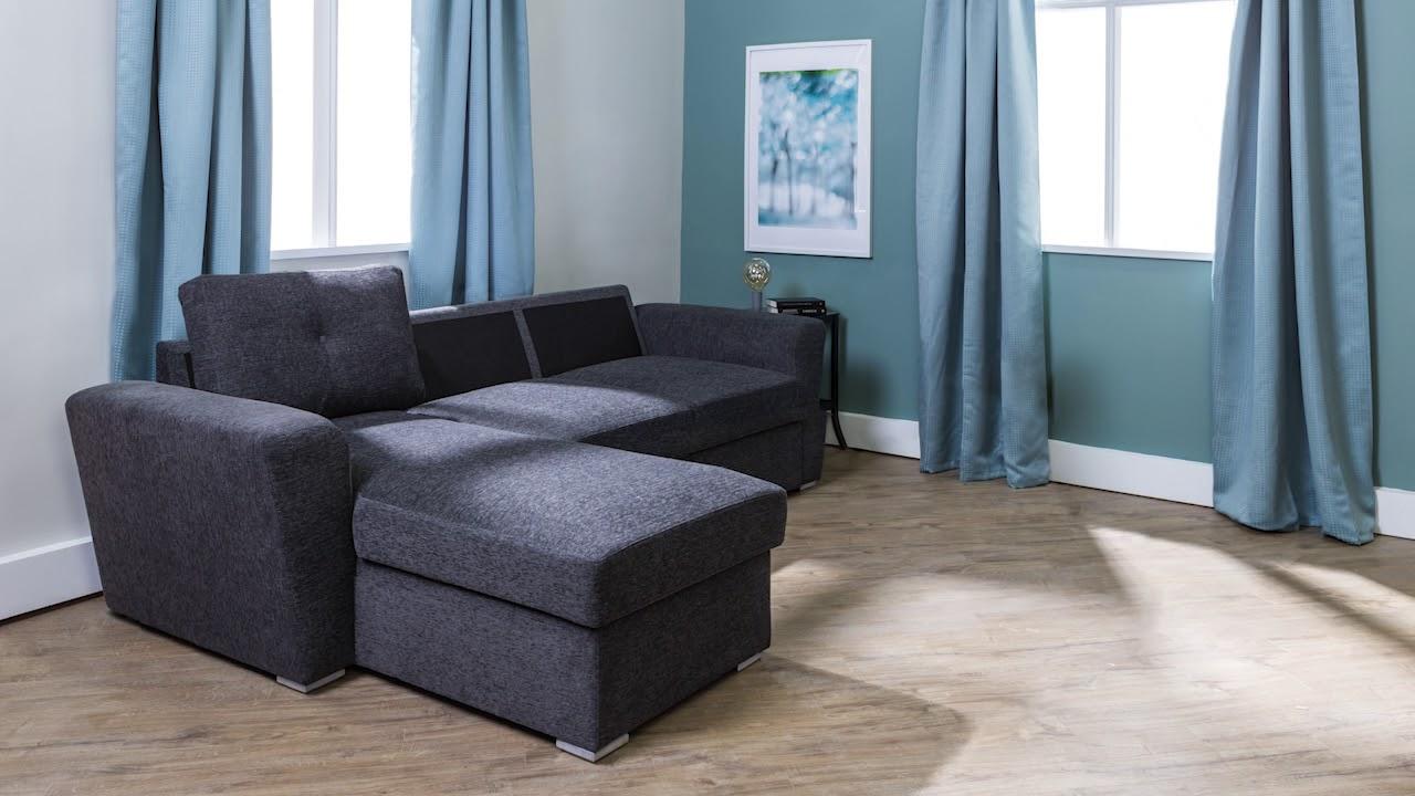 Jysk Vejlby Sofa Bed Grey