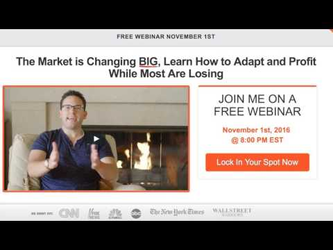 Details On My Free November 1st Webinar