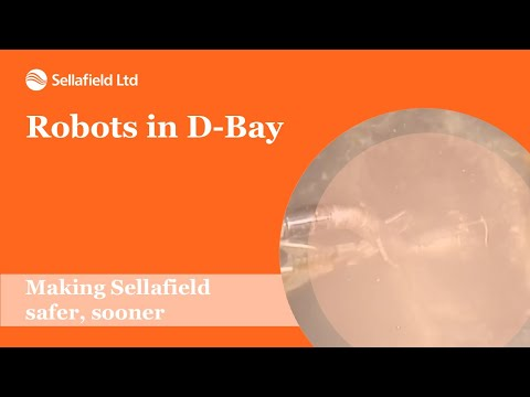 Removal of radioactive sludge from D-Bay at the Sellafield