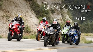 2015 Superbike Smackdown X Street Shootout: Part 2 - MotoUSA