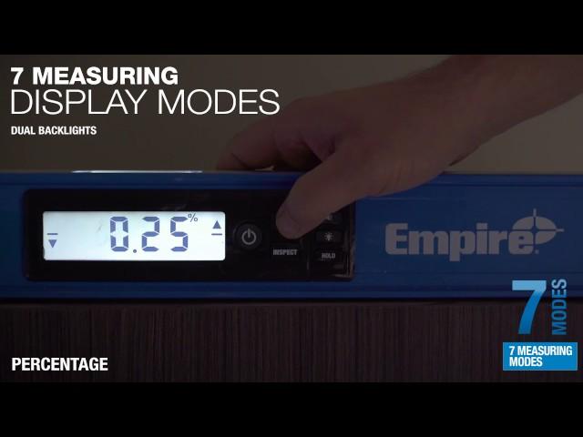 e105 TRUE BLUE® Digital Box Level