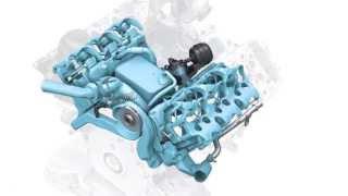 Circuits de refroidissement découplé du moteur Audi 3.0 TDI 2014