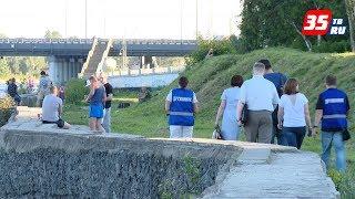 Народные дружинники Череповца провели патрулирование набережной Ягорбы