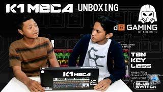 unboxing digital alliance k1 mechanical keyboard gaming keyboard gaming murah broo