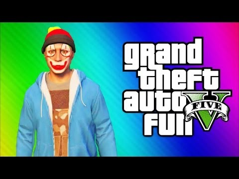Thumbnail: GTA 5 Online Funny Moments Gameplay - Darts, Underwater Glitch, Mission, Magic Show (Multiplayer)