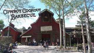 Frontierland - Cowboy Cookout Barbecue - Disneyland Paris